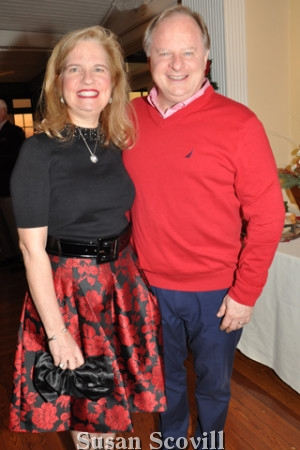 2. Karen and Leif Zetterberg attended the ESU Holiday Party.