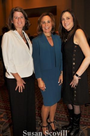 8. Corinne O'Connell, Ellen Farmer and Debbie Robinson.