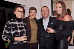 Laurel Rittenhouse Developer, Southern Land Company, hosts cocktail party to celebrate the holiday season.