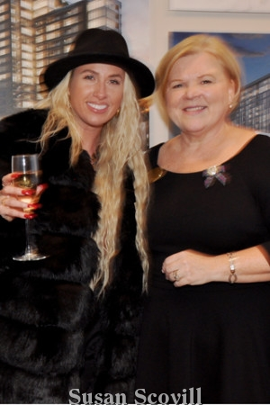2. Alexa Scattergood chatted with Eva Walker of Southern Land.