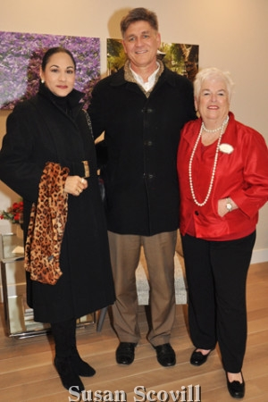 6. Lisa Silveri and Dave Stavesky were welcomed to the event by Mary Ellen Dearborn.