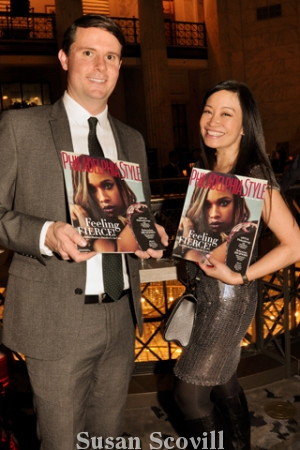 21. VFTC'S Chief Marketing Officer Ed Harris and Jen Su liked the look of the latest Philadelphia Style Magazine publication!