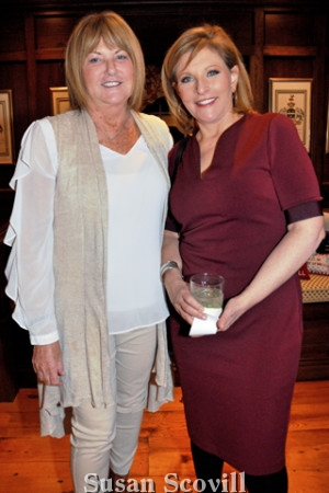 14. Barbara Sylk chatted with Stephanie Stahl of CBS-3.