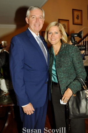 6. Montgomery County District Attorney Kevin Steele and his wife Tracy.