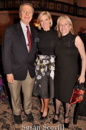 8. Joseph Scott McCardle, Cecile Tynan of 6ABC and Suzanne Aumack