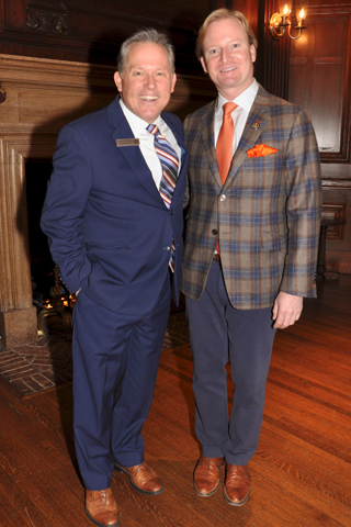Union League General Manager Jeff McFadden chatted with Marc Frqanzoni.