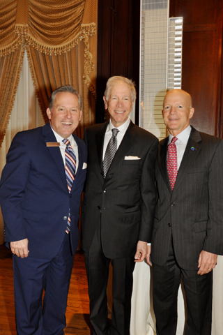 11. Union League General Manager Jeff McFadden, Carl Dranoff and John Finley.
