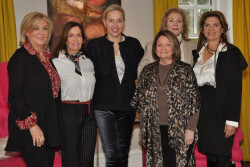 PAFA's Women's Board meets to plan annual ASE event