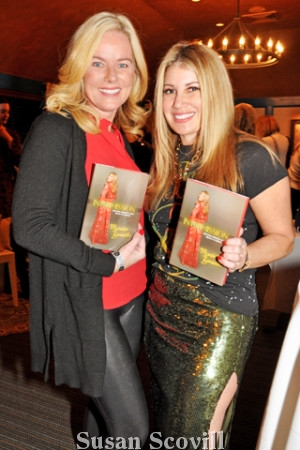 8. Patty Ann Monzo took home a copy of Intermission, Mindie Barnett's new book