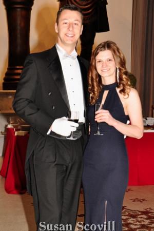 17. Chris Savage and Amanda Doerfleyn .
