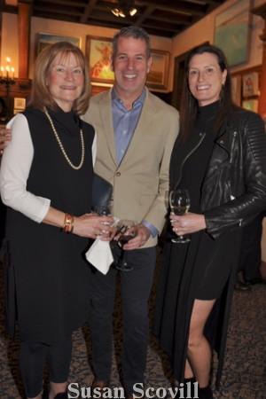7. Susan Fahey and Steve and Nika Maloney.