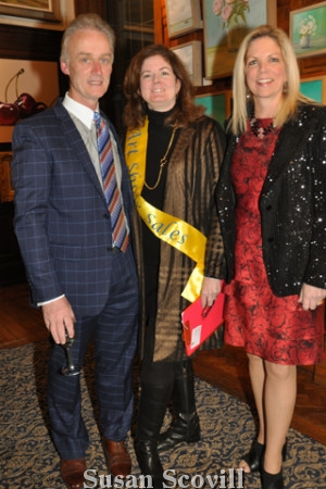 14. Sponsors Paul and Theresa Murtagh were pictured with Nicole Guerin.