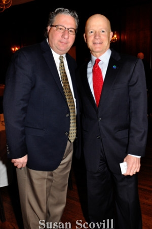 4. Eliseo Prinzio chatted with U.L.R.E. chair John Finley.