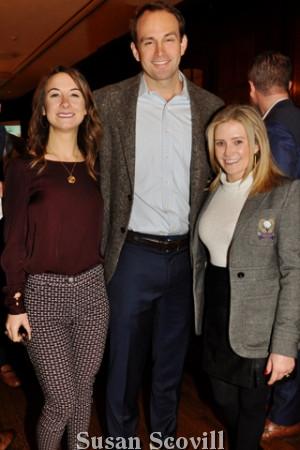 7. Danielle Liberatoscioli, Bryan Ziegerfuse and Caitlin Birch.