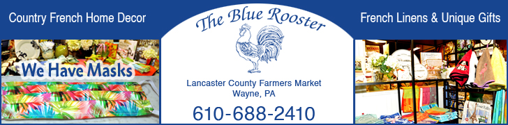 BLUE ROOSTER MASK AD