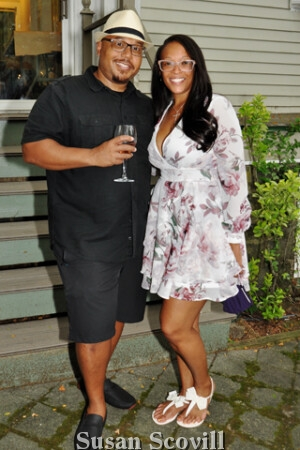 10. PR Guru Gary Murray and his wife Jaquay attended the event