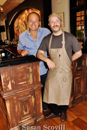 9, Fearless Regional Director Ettore Ceraso and Executive Chef Merick Devine paused for a photo during the pre-opening event.