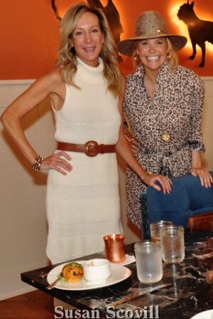 Peggy Conlon AND Main Line Fashionista Ashley Meyers attended the press luncheon.