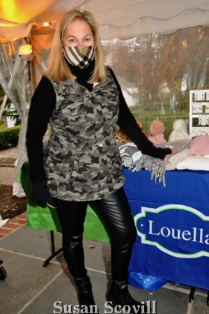 10. Maria Delany brought a variety of items from her Louella boutiques to the event.