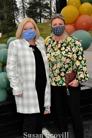 7. Thecla Bene and Crissy Bowden attended the event.
