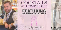 White Dog Restaurants feature 'Cocktails at Home Series' Zoom classes