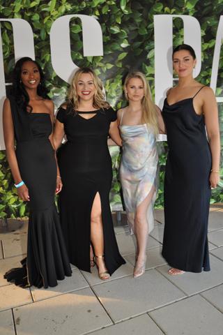 3. Alexandra Heck, Stephanie Algayer, Kate Marlys and Stephanie Bevenes