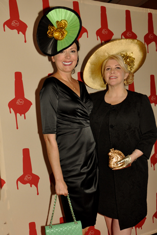 """5. Zoya Egan and Kathleen Keneally came to the event """"dressed to impress"""""""