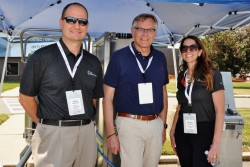 Life Sciences Annual Awards hold Tailgate event in Discovery Labs parking lot