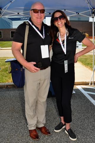 7. John Kouton and Audrey Greenberg.