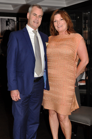 15. Kevin Loving and Dawn McLeod.