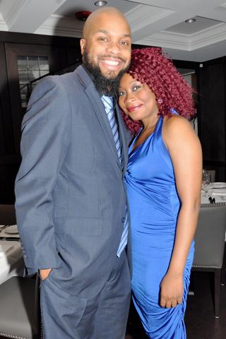 3. Chris Purnell and Lynda César,