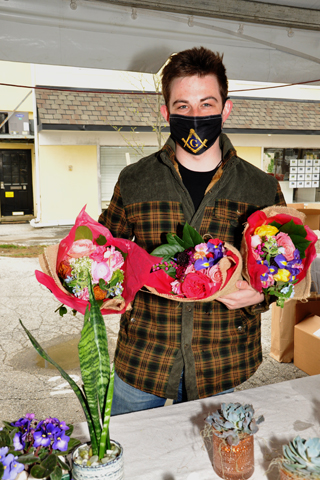 3. Aidan Attis of StudioFlora brought a beautiful variety of spring flowers to the Spring Market.