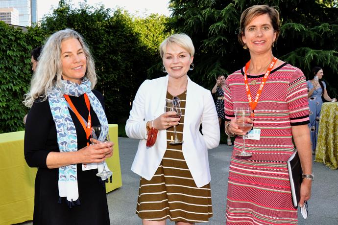 3. Kristin Vogel, Kim Huskinson and Janet Cusack.