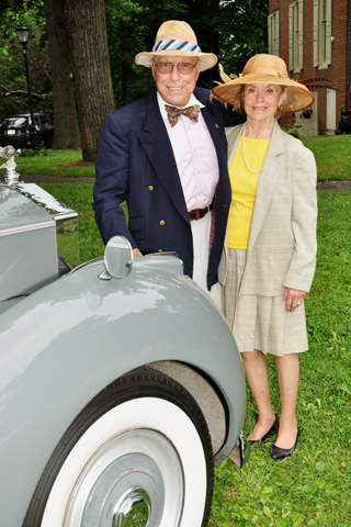 7. Don and Judy Rosato arrived at the event in their famed Rolls Royce!