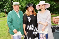 E-SU members and guests attend 2021 Royal Garden Party
