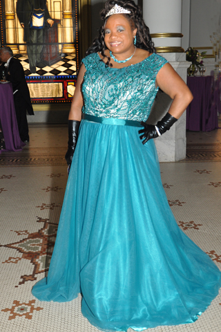 10. Vocalist Jillian Patricia Pirtle entertained guests during a concert that preceded the reception.