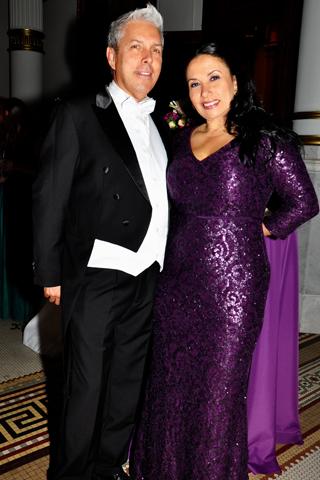 11. Herman Gomez and his wife Monica Quintero.