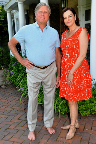 3. Pennsylvania Ballet Board Chairnan and event host David Hoffman chatted with Executive Director Shelly Power.