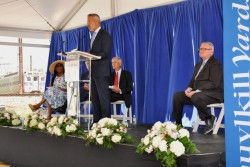 Brandywine Realty Trust, in partnership with Drexel University, marked the groundbreaking of The West Tower at Schuylkill Yards