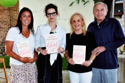 Jamie Brenner promotes new book 'Blush' during an appearance in Wayne