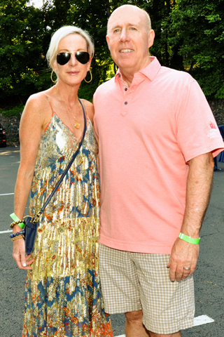 4. Fashionista's Peggy Conlon and her husband Jack enjoyed the event.