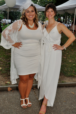 2. Philly PR Girl's Kate Marlys and Brittany Nettles.