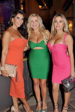 12. Aida Sparta, Missy Ambrosini and Maria Allegra.