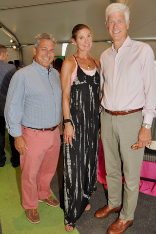 15. Drew Camerota and Lin and Jim Buck attended the 2021 Mann Party in the Park.