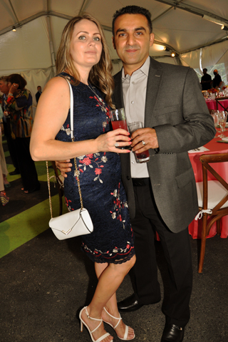 5. Alla and Kamil Jakubova attended the event.