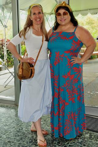 7. Fearless Restaurants publicist Jaimi Blackburn and Jennifer Lynn Robinson attended the pre-restaurant week event.