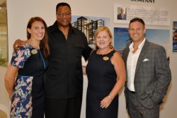 The AGENCY's Real Estate team host exciting reveal at the Laurel Sales Center