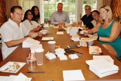 Children's Crisis Treatment Center 20th Annual Roundup Committee prepares invitations