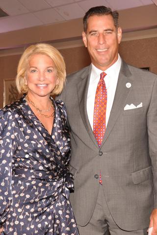 15. Keynote Speaker Tracey Davidson of NBC10 and Bringing Hope Home CEO Paul Isenberg.