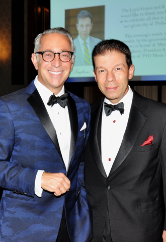 2. Lead Sponsor Mark Nicoletti Sr. paused for a photo with Dr. Scaglione.